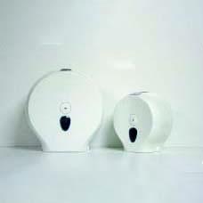 Dispensers rond voor toiletpapier