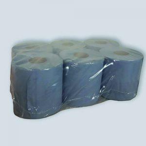 Handpapier 2 laags blauw